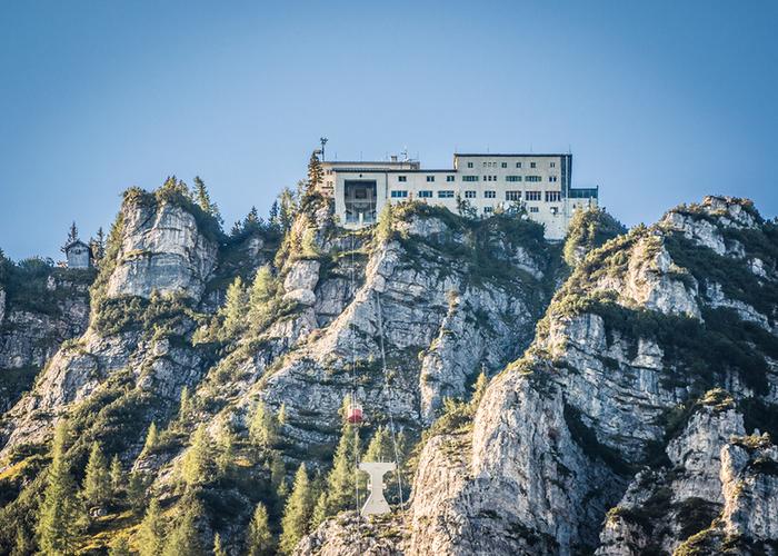 Predigtstuhlbahn Bergstation