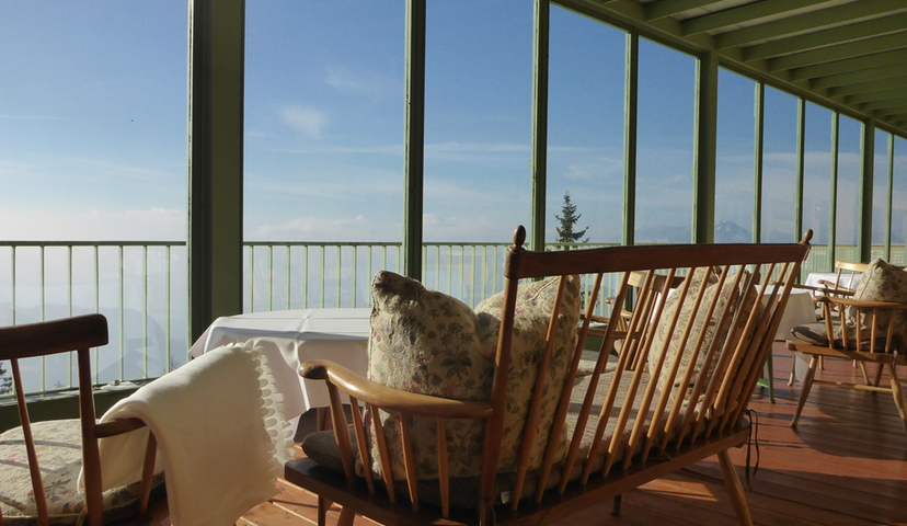 Terrassen Blick